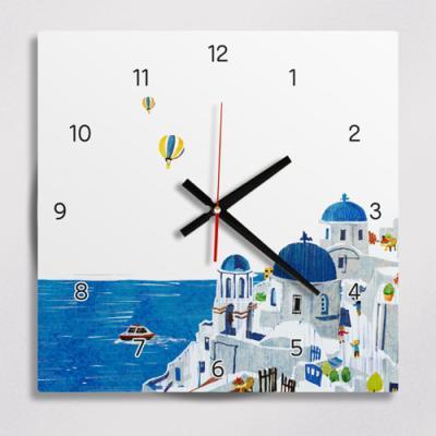 ig201-아기자기산토리니_인테리어벽시계