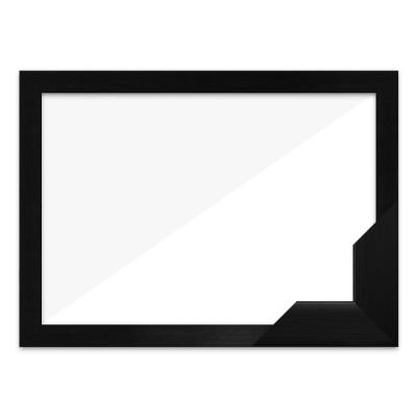 퍼즐액자 25x25 고급형 우드 블랙