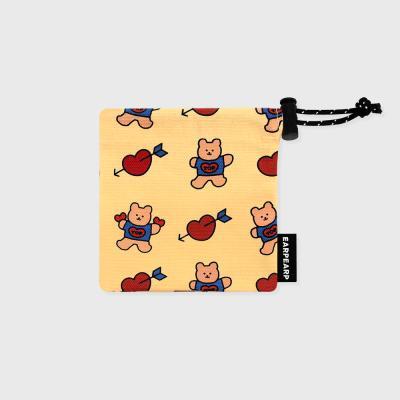Bear heart-creamyellow(미니 스트링)