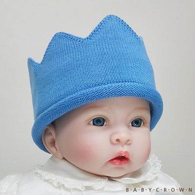 [Baby Crown] 베이비크라운 아기왕관 모자 큐티 (오션)