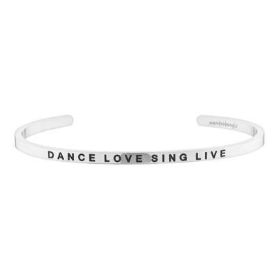[만트라뱅글] DANCE LOVE SING LIVE - 실버