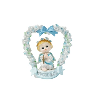 하트 아치 블루 천사