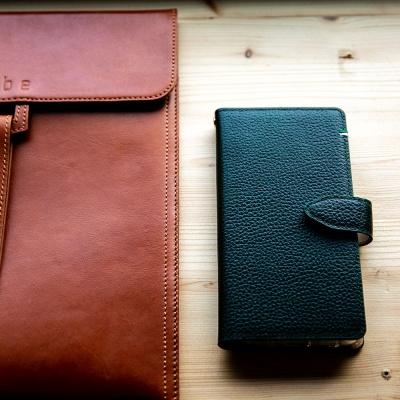 스매스 아이폰8플러스/7플러스 엠보 스냅 지갑형 케이스 버튼