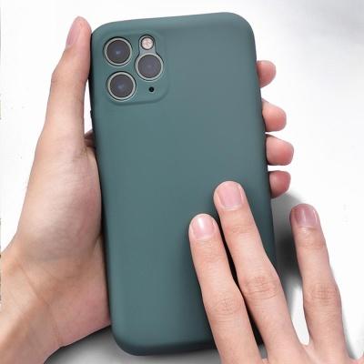 아이폰 SE2 8 7 8+ 7+ 단색 컬러 젤리 휴대폰 케이스