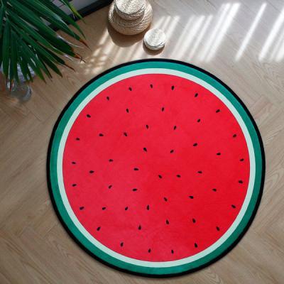 바이빔[바이빔][메모리폼] 수박 러그[원-100]740