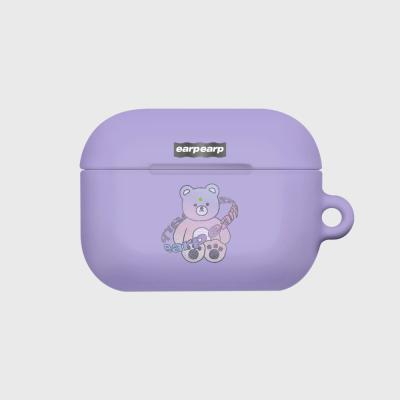 Twinkle gem bear-purple(Hard air pods pro)