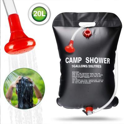 태양열 캠핑 샤워백 캠핑물통 물주머니 워터저그 20L