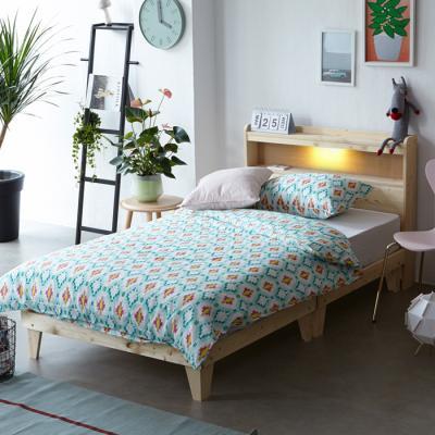 오가닉 원목 침대 SS (LED마루형/포켓메모리)