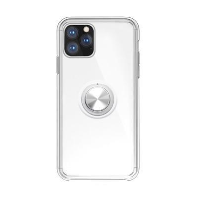 P055 아이폰11프로 마그네틱 클리어 젤리 케이스
