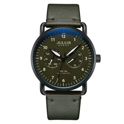 [쥴리어스 옴므 공식] JAH-120 남성시계 가죽시계