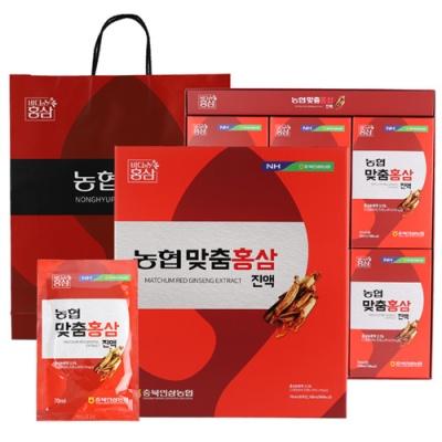 [충북인삼농협] 내몸애 맞춤 홍삼진액 70mlx30포