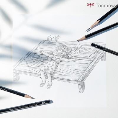 톰보 모노J 연필 (MONO-J)