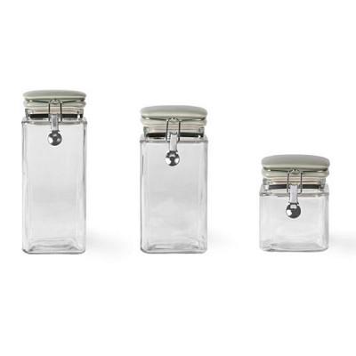 [Garden trading]Square Glass Storage Jar유리병