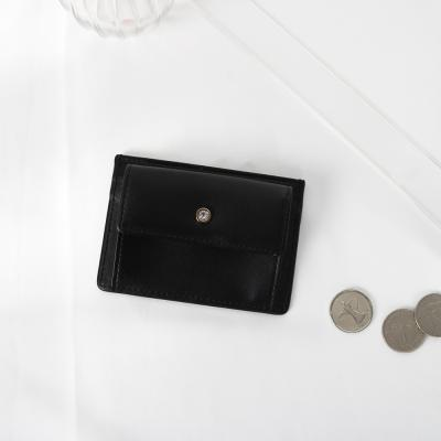 (탄생석지갑) Blumen Pocket Card Wallet - Black