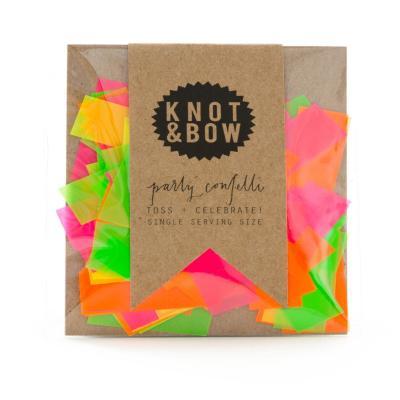 낫앤보우 네온 컨페티 소 KNOT&BOW Neon Confetti