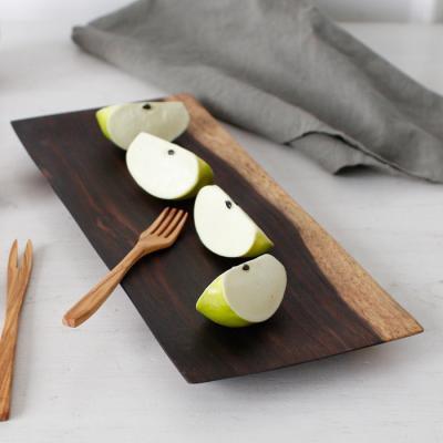 소노클링(장미목) 직사각 접시 - (소)
