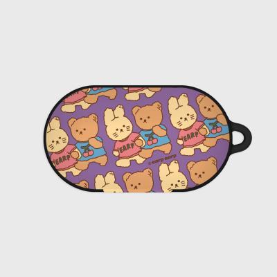nini friends-purple(Buds hard case)