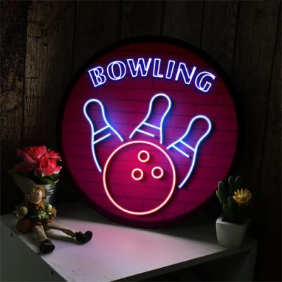 no178-LED액자35R_생활스포츠볼링