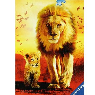 1000조각 직소퍼즐▶ 사자의 용맹한 발걸음 (RA19051)