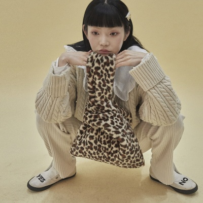 [펀프롬펀]Eco fur bag_leopard
