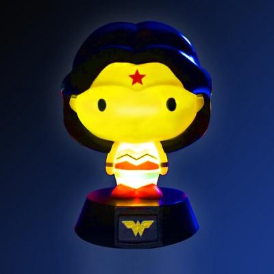 3D DC 코믹스 원더우먼 무드등 장식장 피규어 라이트