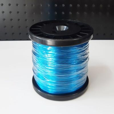 칼라공예철사 파랑색(대용량 두께1.5mm 길이120M)