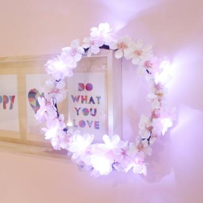 벚꽃 블라썸 LED 리스 무드등