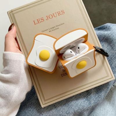 특이한 계란 이어폰 보호 관리 케이스 연말 선물