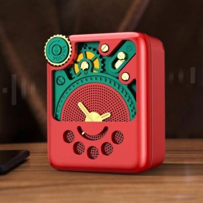레트로 블루투스 스피커 캠핑용 스피커 라디오 스테레오