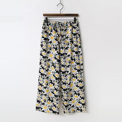 Flower Banding Pants - 8부