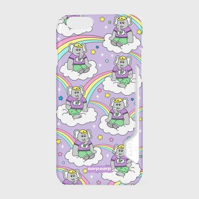 kkikki rainbow cloud-purple(카드수납케이스)