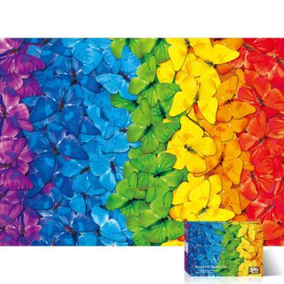 500피스 직소퍼즐 무지개 나비 TPD05-1020