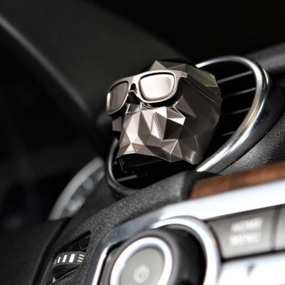 [센트몬스터] TIRED SKULL 차량용 방향제 White Pack