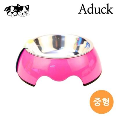 에이덕 오리지널 펫 보울식기 핑크 (중형)
