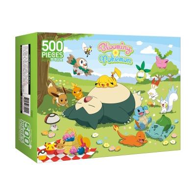 포켓몬 직소퍼즐 500피스 블루밍 포켓몬
