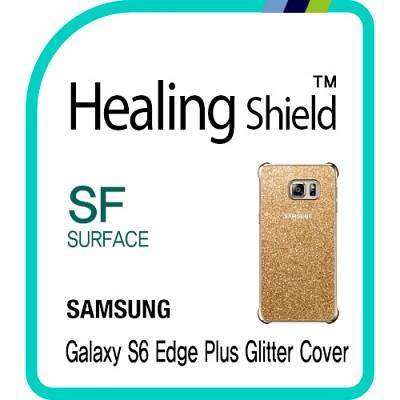 [힐링쉴드] 갤럭시S6 엣지 플러스 정품 글리터(Glitter) 케이스 외부보호필름 2매(HS152625)