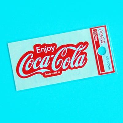 [코카콜라]mini로고 스티커(Enjoy CC)