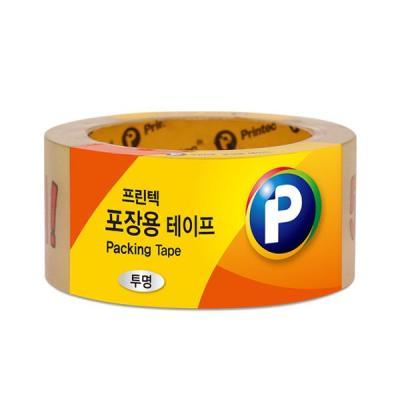 [프린텍] P4845_포장용 테이프/투명/48mmx45m