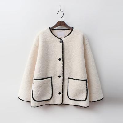 Faux Fur Line Short Coat