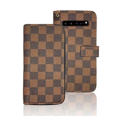 지퍼 체커 다이어리케이스(아이폰11프로맥스)