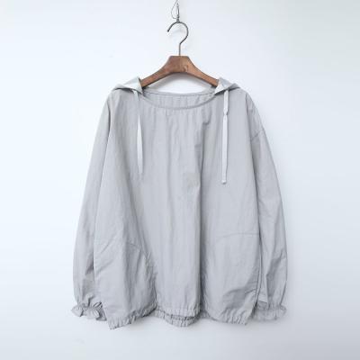 Hood Nylon Cotton Sweatshirt