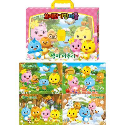 38 48 60 70조각 판퍼즐 - 엄마 까투리 2 (4종)