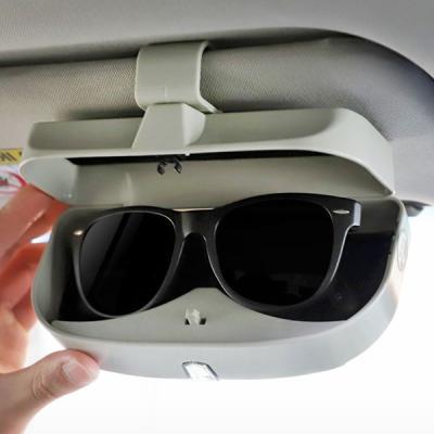 안경 카드수납 클립형 원터치 차량용 선글라스 보관함