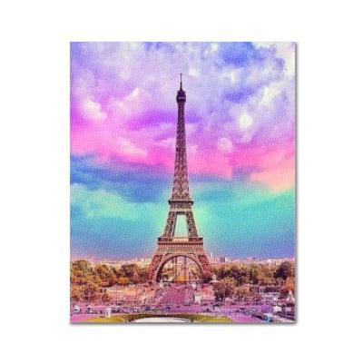 DIY 보석십자수 - 오색의 에펠탑 BH02 (50x40)
