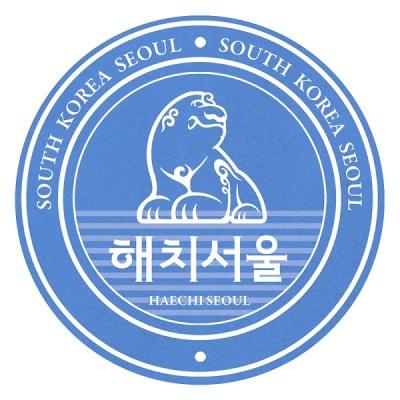 [한국폼텍] 서울을 홍보하자~My Sticker 캐리어 스티거-해치 2매/입 MS-1001