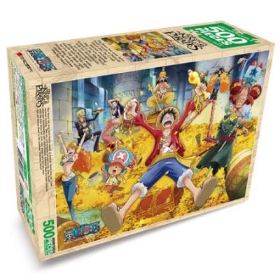 원피스 퍼즐 보물더미 500 피스 직소퍼즐