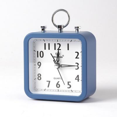 퀴리 스퀘어 알람 탁상시계(블루)