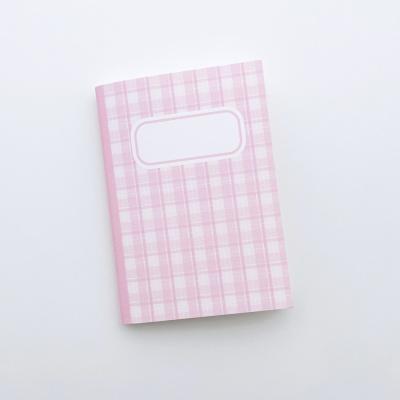 러브미모어 핑크 실제본노트(다이어리)