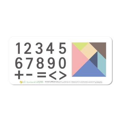 [꼬메모이]쥬에 졸리 4종 세트 / 한글 자석 퍼즐