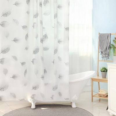 욕실 방수 샤워커튼+커튼링 방수막 (바이리프)